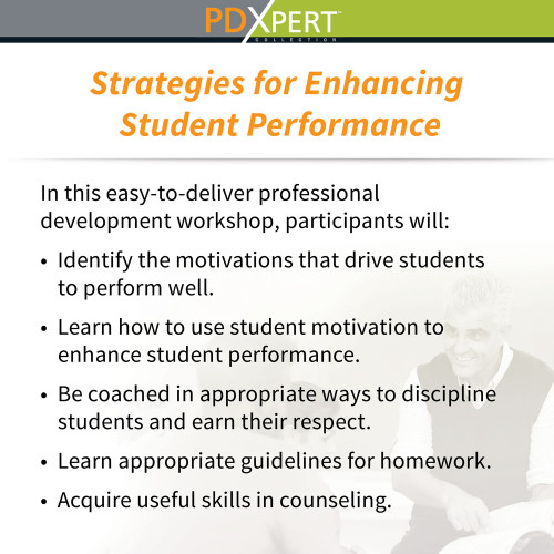 Ready-to-Use Inservice Workshops on Instructional Strategies: Strategies for Enhancing Student Performance