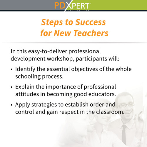 Ready-to-Use Inservice Workshops on Leadership: Steps to Success for New Teachers