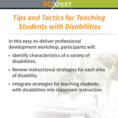 Ready-to-Use Inservice Workshops on Special Education: Tips and Tactics for Teaching Students with Disabilities