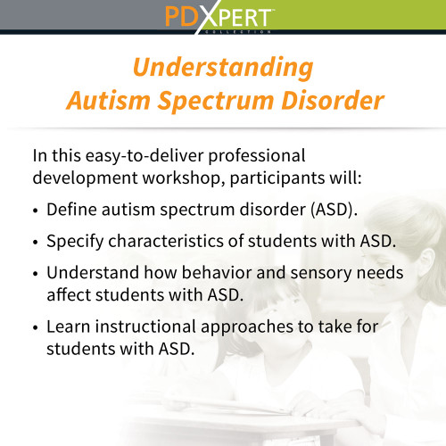 Ready-to-Use Inservice Workshops on Special Education: Understanding Autism Spectrum Disorder