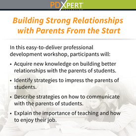 Ready-to-Use Inservice Workshops on Working with Parents: Building Strong Relationships with Parents From the Start
